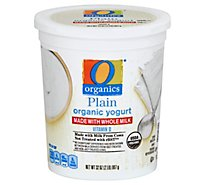 O Organics Yogurt Whole Milk - 32 Oz