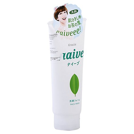 Facial Cleansing Foam Green Tea - 4.5 Oz