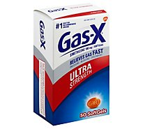 Gas X Ultra Softgels - 50 Count