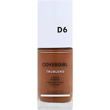 COVERGIRL truBLEND Liquid Makeup Toasted Almond D6 - 1 Fl. Oz.