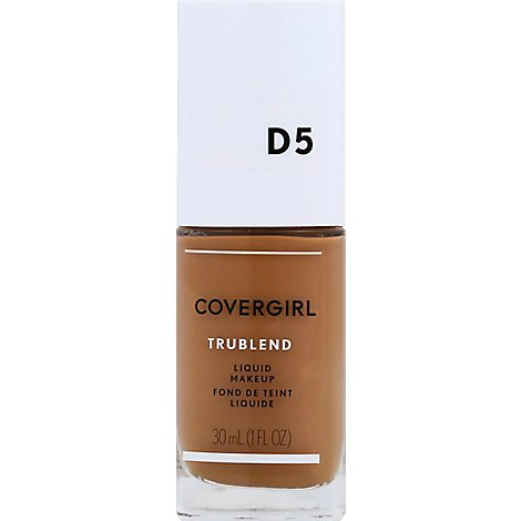 COVERGIRL truBLEND Liquid Makeup Tawny D5 - 1 Fl. Oz.