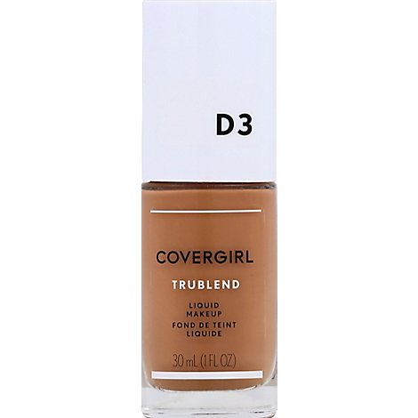 COVERGIRL truBLEND Liquid Makeup Honey Beige D3 - 1 Fl. Oz.