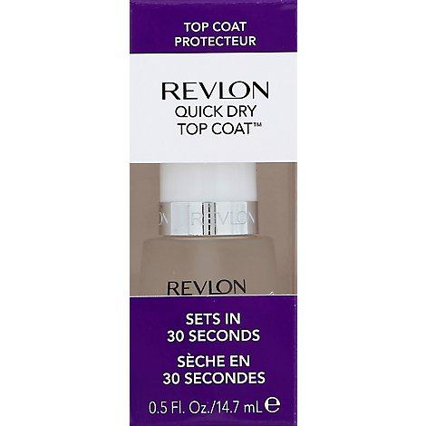 Revlon Rev Quick Dry Top Coat - Each