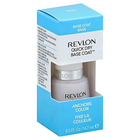 Revlon Rev Quick Dry Base Coat - Each
