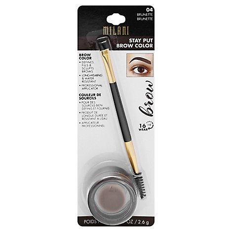 Mil Stayput Brow Color Brunette - Each
