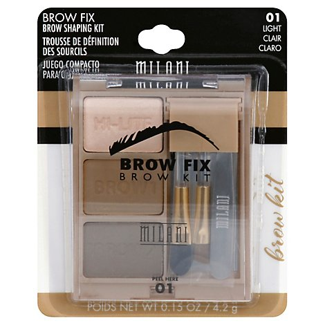 Mil Brow Fix Kit Light - Each