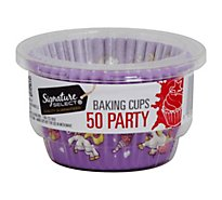 Signature Kitchens Baking Cups Fun - 50 Count