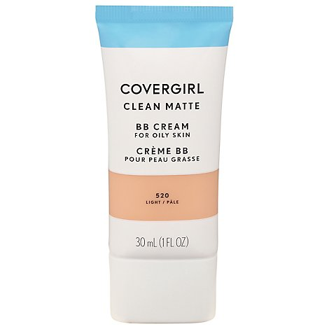 COVERGIRL Clean Matte BB Cream Light 520 - 1 Fl. Oz.
