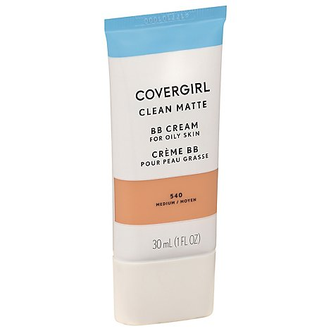 COVERGIRL Clean Matte BB Cream Medium 540 - 1 Fl. Oz.