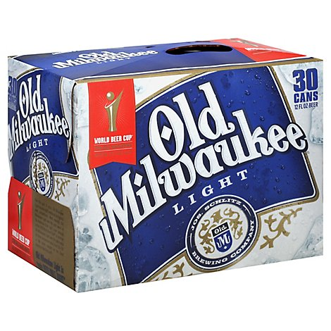 Old Milwaukee Light Can - 30-12 Fl. Oz.