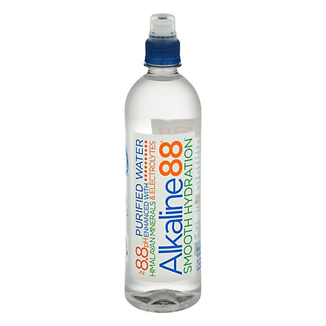 Alkaline88 Purified Water - 23.7 Fl. Oz.