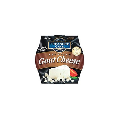 Treasure Cave Goat Crumbled Cheese - 3.50 Oz