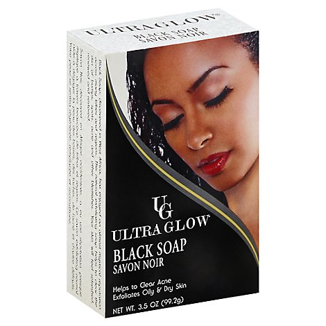 Ultra Glo Black Soap - 3.5 Oz