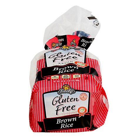 Food For Life Brwn Rice Breadrn Rce Wht & Gluten F - 24 Oz