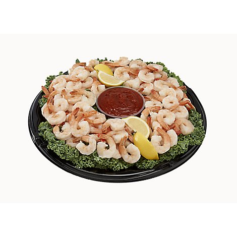 Seafood Counter Party Platter Shrimp Fresh Made - 40 Oz