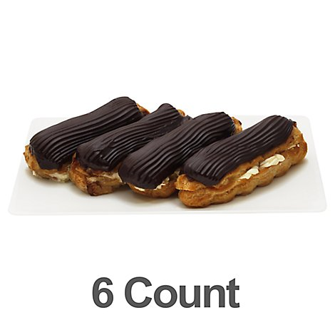 Bakery Eclair 6 Count - Each