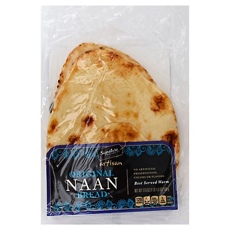 Select Naan Original Flat Bread - Each