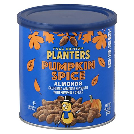 Planters Almonds Seasoned With Pumpkin & Spices - 15.25 Oz