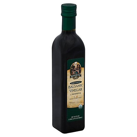 Bonavita Vinegar Organic Balsamic Vinegar of Modena - 16.9 Fl. Oz.