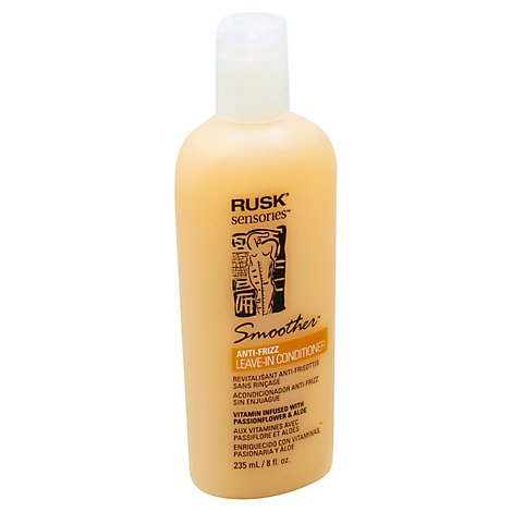 RUSK Sensories Conditioner Smoother Leave-In Smoothing Passion Flower and Aloe - 8 Fl. Oz.