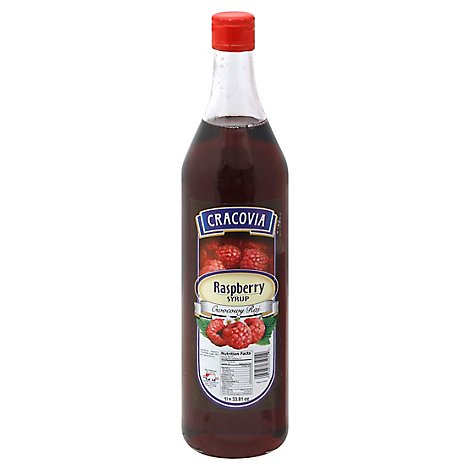 Cracovia Syrup Raspberry - 33.8 Fl. Oz.