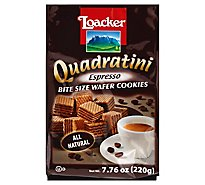 Loacker Wafer Qudrtni Esprsso 220g - 7.76 Oz