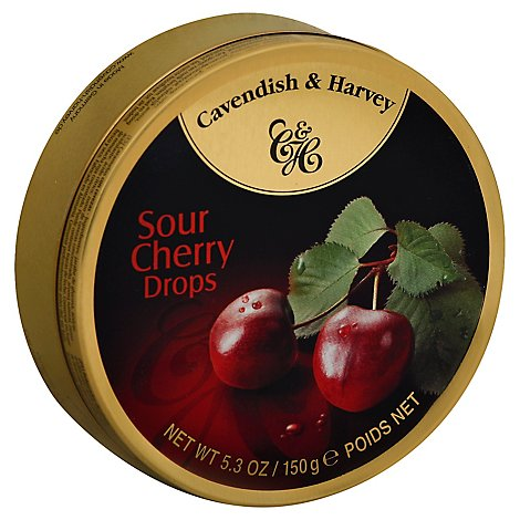 Cavendish & Harvey Sour Chrrey Drops - 5.3 Oz