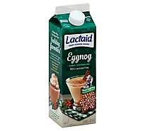 LACTAID Eggnog 1 Quart - 946 Ml