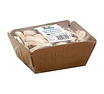O Organics Organic Mushrooms White Sliced - 8 Oz
