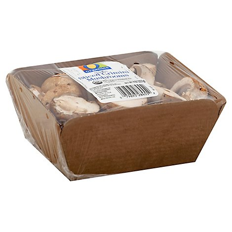 O Organics Organic Mushrooms Crimini Sliced - 8 Oz