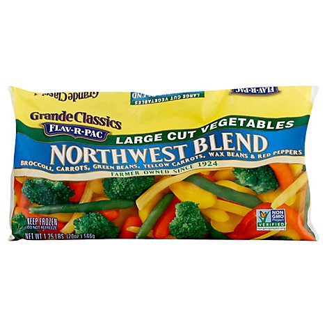 Flav-R-Pac Grande Classics Vegetable Blends Northwest Blend - 20 Oz