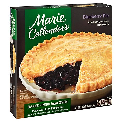 Marie Callenders Pie Blueberry - 39 Oz