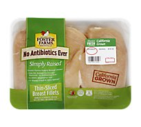 Foster Farms Chicken Breast Thin Sliced Boneless Skinless - 1.50 LB