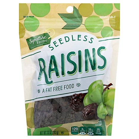 Signature Farms Raisins - 10 Oz