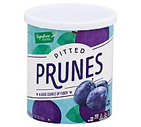 Signature Farms Prunes California Pitted - 18 Oz