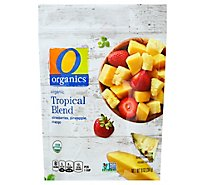 O Organics Organic Tropical Blend Strawberries Pineapple Mango - 10 Oz