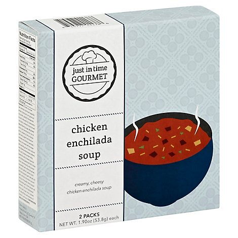 Just in Time Gourmet Soup Chicken Enchilada - 2-1.9 Oz