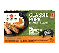 Applegate Natural Classic Pork Breakfast Sausage Frozen - 7oz