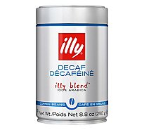 illy Coffee Illy Blend Arabica Whole Bean Medium Roast Decaf - 8.8 Oz