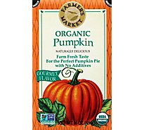 Farmers Market Organic Puree Pumpkin - 16 Oz
