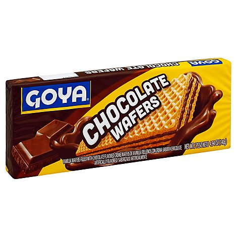 Goya Wafers Chocolate Bag - 4.94 Oz