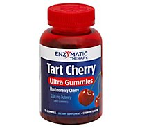 Enzy Tart Chry Ultra Gummies - 75 Count