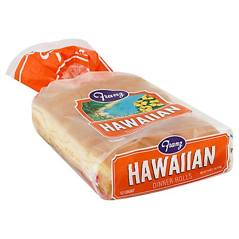 Franz Dinner Rolls Hawaiian 12 Count - 16 Oz