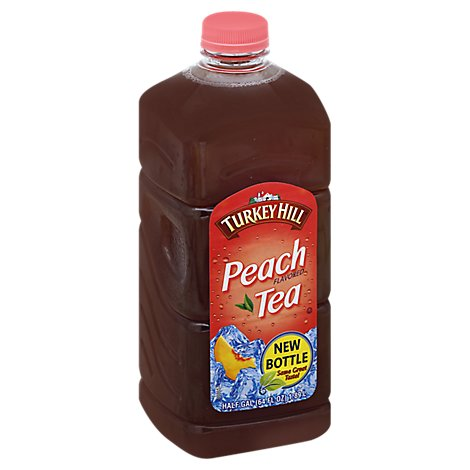 Turkey Hill Iced Tea Peach Flavored - 64 Fl. Oz.