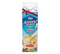 Blue Diamond Almond Breeze Almondmilk Nog One 1 Quart - 32 Fl. Oz.