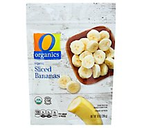 O Organics Organic Bananas Sliced - 10 Oz