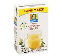 O Organics Organic Broth Chicken Flavored - 48 Oz