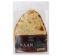 Fresh Baked Signature Select Garlic Flat Bread Naan - Each