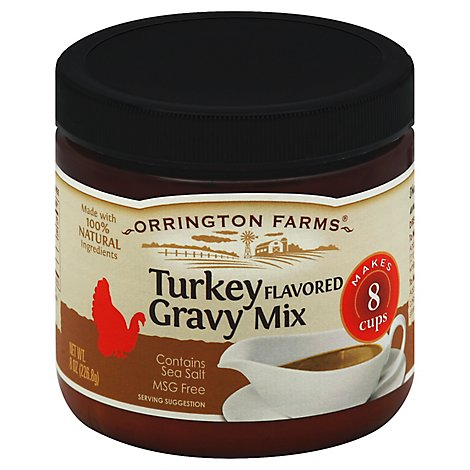 Orrington Farms Gravy Mix Turkey Flavored  - 8 Oz