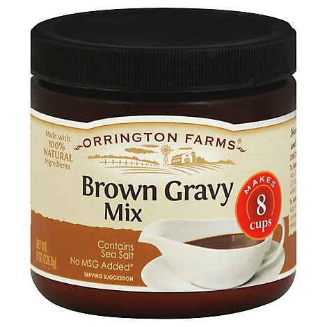 Orrington Farms Gravy Mix Brown - 8 Oz
